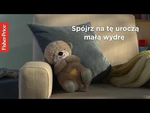 Fisher-Price Wydra Usypianka-Przytulanka Oddychający Uspokajacz