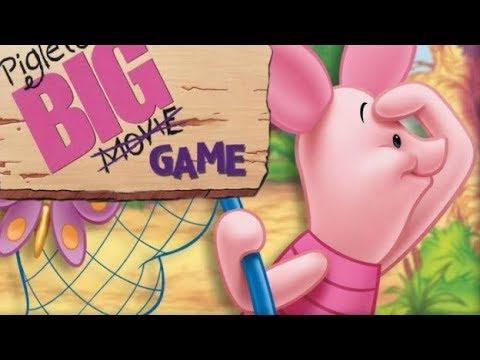 El Gran juego de Piglet Pelicula Completa en ESPAÑOL l Escenas del juego (Winnie the pooh español)
