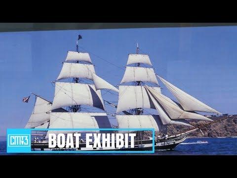 Costa Mesa Historical Society Boat Exhibit