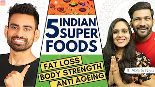 5 Indian Superfoods You Must Eat ft. @Abhi and Niyu