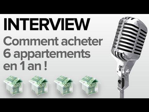 Investissement immobilier : Comment j'ai acheté 6 appartements en 1 an !
