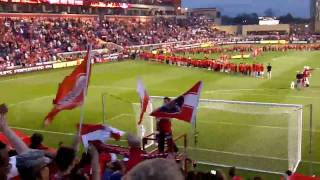 Section 8 Chicago Fire Home Opener Pre Game Show and Nationa