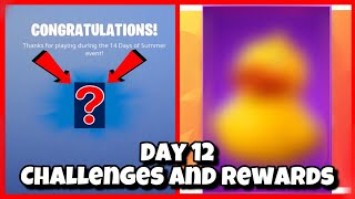 Fortnite 14 Days Of Summer Day 12 Challenges and Rewards