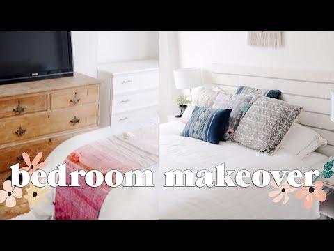 Extreme Bedroom Makeover Part 1 | Home Renovation 2018