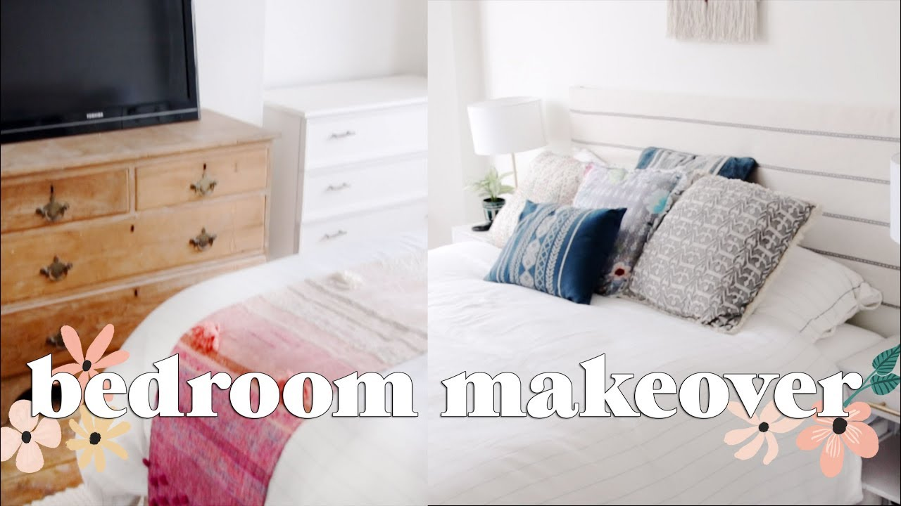 Extreme Bedroom Makeover Part 1 Home Renovation 2018