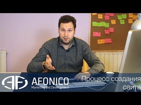 Процесс создания сайтов. Как создается сайт? Самому, или заказать у компании? Видео 2-4. Afonico M&D