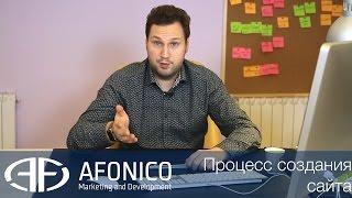 Процесс создания сайтов. Как создается сайт? Самому, или заказать у компании? Видео 2-4. Afonico M&D(, 2017-01-30T15:27:50.000Z)