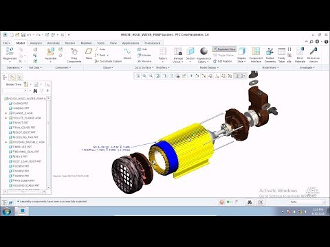Centrifugal Pump Assembly Tutorial Final Part | Assembly Tutorial