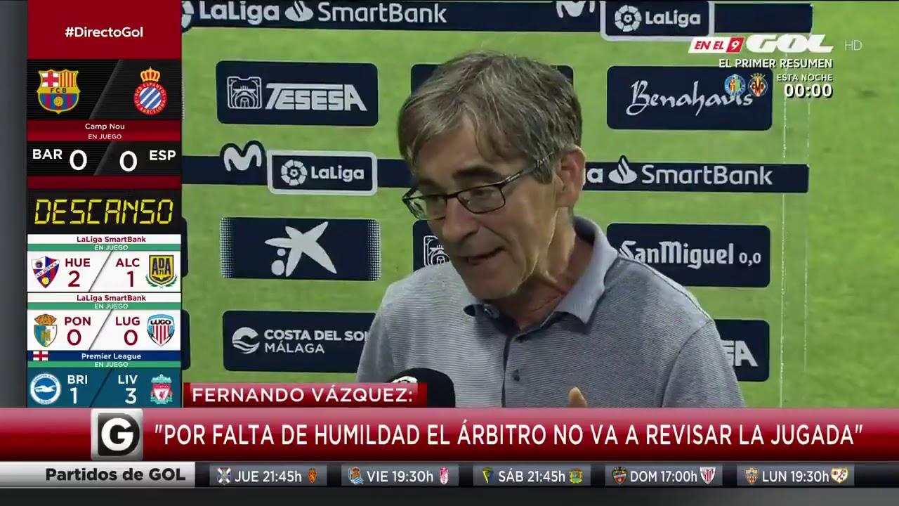 "Fernando Vázquez: ""¿Pretenden que el VAR tenga mala fama para que lo retiren?"""