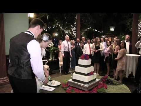 Team Video Wedding Cake Cutting Demo