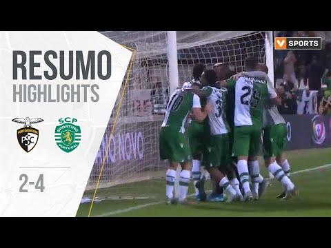 Highlights | Resumo: Portimonense 2-4 Sporting (Taça da Liga 19/20 - Fase 3 #3)