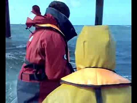 Crew transfer in gale force winds