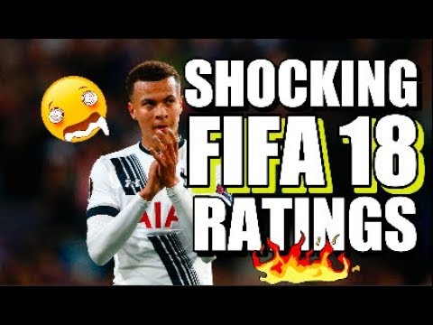 7 Most Shocking FIFA 18 Ratings