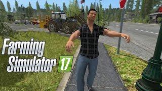 FARMING SIMULATOR 17 #25 - ZOMBIE IN CITTÁ - FS 2017 GAMEPLAY ITA
