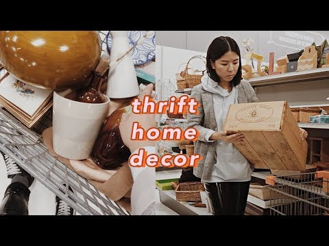 Thrift Home Decor Haul & Thrift with Me   what can I thrift with a $15 budget