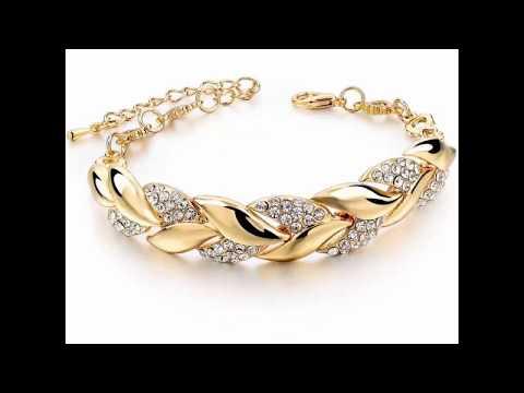 Золотые браслеты для женщин