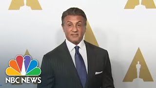 Sex Crime Allegation Against Michael Sylvester Gardenzio Stallone Being Reviewed | NBC News