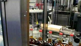Maker's Mark Whisky Bottling line