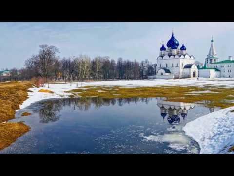 Города Золотого кольца России и их карта