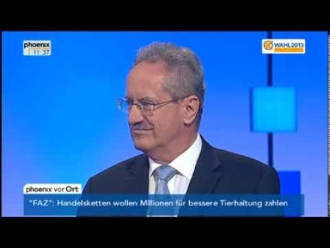 Wahl in Bayern: TV-Duell zwischen Horst Seehofer (CSU) und Christian Ude (SPD) am 04.09.2013