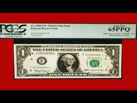 RARE DOLLAR BILLS! MULE 1 DOLLAR BILL!  PAPER MONEY TO LOOK FOR!