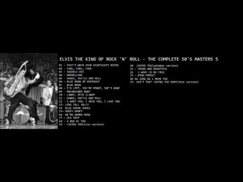 ELVIS THE KING OF ROCK 'N' ROLL   THE COMPLETE 50'S MASTERS 5