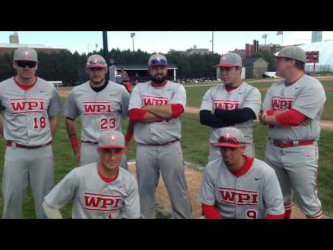 WPI Baseball Post-Game Interview - 2016 Seniors