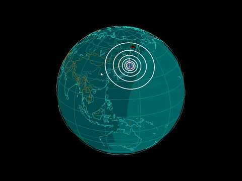 EQ3D ALERT: 1/24/18 - 6.2 magnitude earthquake in the South Pacific Ocean