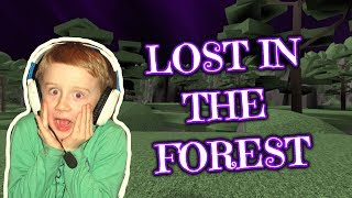 LOST IN THE FOREST - CLUELESS - ROBLOX