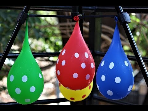 5 Wet Balloons Colors | Learning Colors with Water Balloons and  Nursery Rhymes Songs