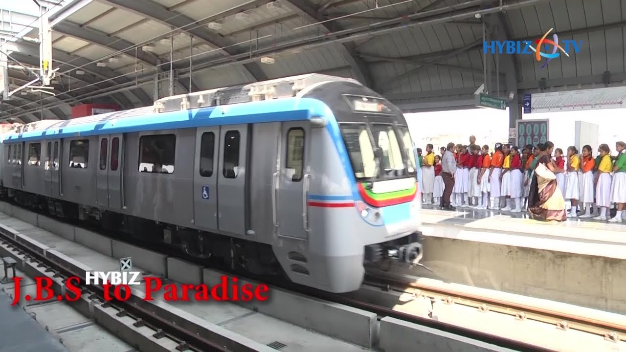 Hyderabad Metro Rail Stations & Timings
