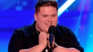 Jamie Captivates the Audience With His Emotional Rendition of R E M | Week 5 | BGT 2017