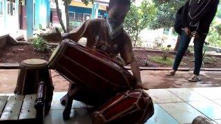 GOKILLL..SISWA SMPN 2 JASINGA memainkan alat musik tradisional celempung, gendang, saron. - Stafaband