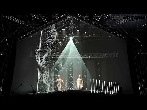 interactive multimedia show V  Mir2017 Live You Play 2017