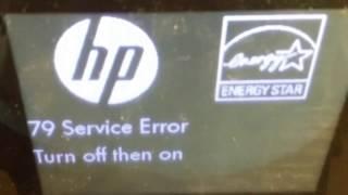 How To Fix 79 Service Error Hp Laserjet Pro 400 M425dn