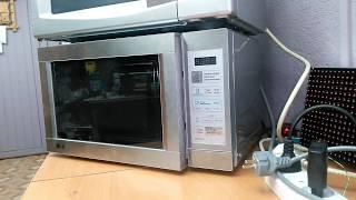 видео Встраиваемая микроволновая печь: вредна ли и какая лучше?