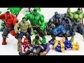 HULK in DANGER! HULK Army Show Up In Time & Saves Hulk From Thanos Villains Toy battle #toysplaytime