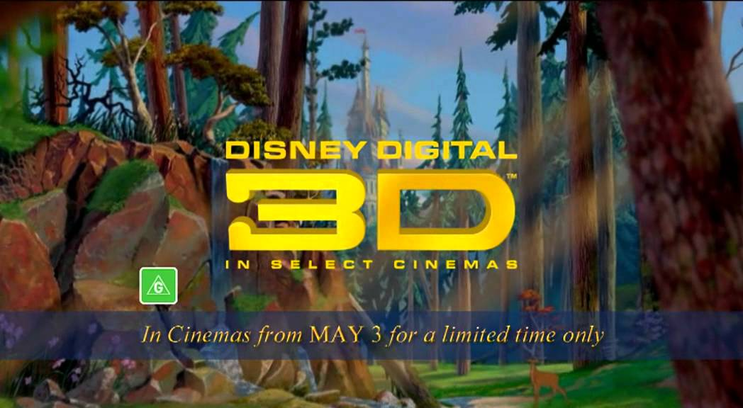 Download Beauty and the Beast 3D trailer - Disney - Available on Digital HD, Blu-ray and DVD Now