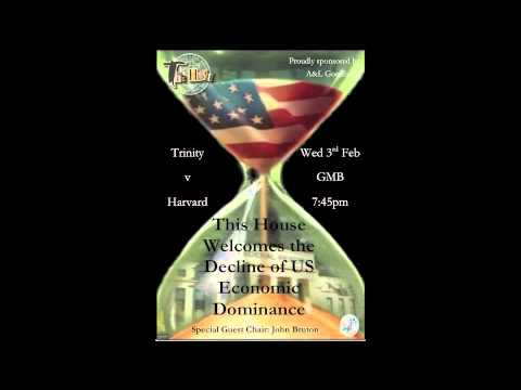 SER Debate against Harvard: This House Welcomes the Decline of US Economic Dominance