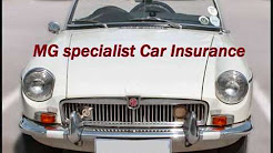 The MG classic car insurance scheme