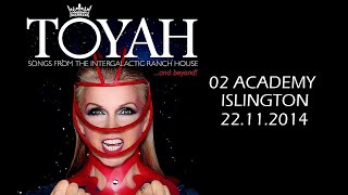 TOYAH 02 ISLINGTON 22.11.2014 SONGS FROM THE INTERGALACTIC RANCH HOUSE AND BEYOND! TOUR