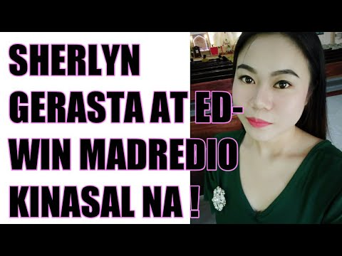 edwin madredio, at sheerlyn gerasta nagpakasal na | Reaction Video