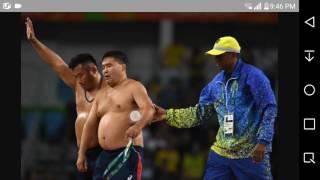 Олимпиадада ИШКАЛ!  Ихтиёр Наврузов бронза ютди, монгол тренерлар эса ялангоч ечинди.