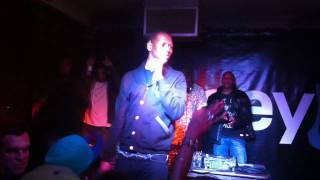 Giggs - Don't Go There, Live @ The Old Blue Last, Hoxton - VICE & Noisey Party 12/05/11
