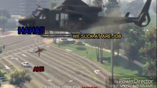 GTA 5 online funny moments (Superhero Squad pt. 3)