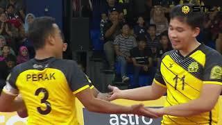 Stl 2018 : Kl Thunder Vs Perak Bison | Rangkuman Perlawanan | Astro Arena