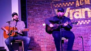 Luke Combs (w/Jonathan Singleton) - Houston We Got a Problem (2/26/2018) Nashville, TN