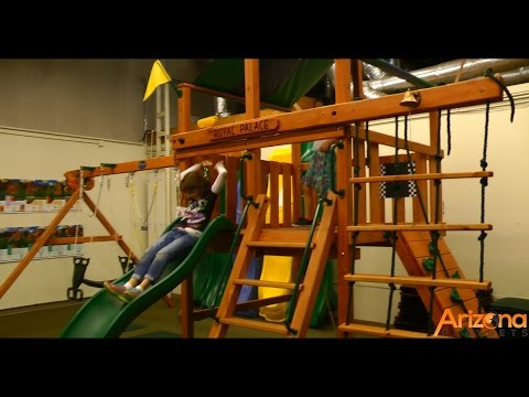 Playnation Royal Palace Swing Set Review from Arizona Playsets