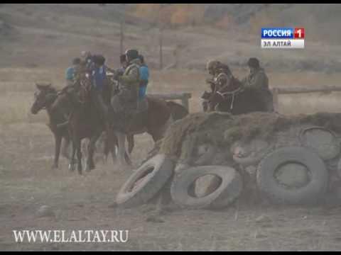 Купчегеньцы провели соревнования по конным видам спорта