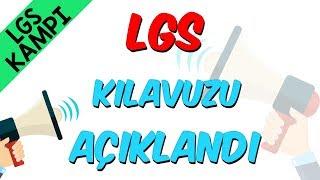 LGS Kılavuzu Açıklandı!